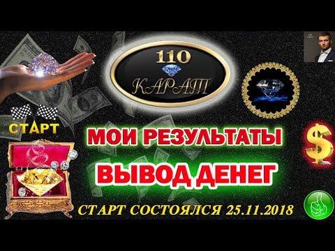 110 Карат - МОИ РЕЗУЛЬТАТЫ | ПЛАТИТ ЛИ ЖИВАЯ ОЧЕРЕДЬ | ПРОБУЮ ВЫВЕСТИ ДЕНЬГИ