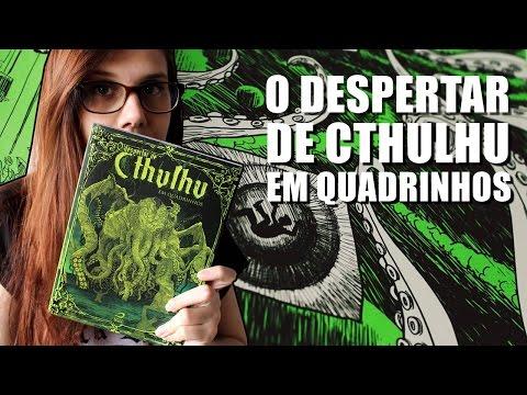 O DESPERTAR DE CTHULHU EM QUADRINHOS | As Cores do Terror