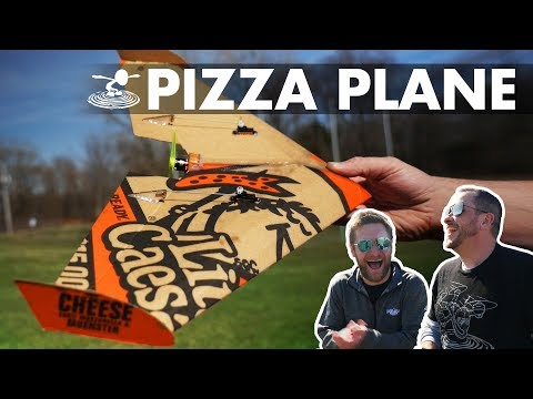 airplane-from-a-pizza-box
