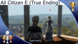 Assassin's Creed Liberation HD - All Citizen E Locations - The Truth Trophy (True Ending)