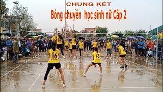 Chung kết bóng chuyền học sinh sữ  THCS Thạch Thành 2019    Thành Công & Thành Minh