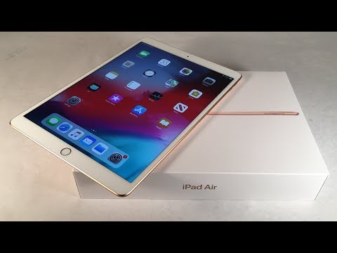 iPad Air 3 (2019) Gold Unboxing & First Impressions