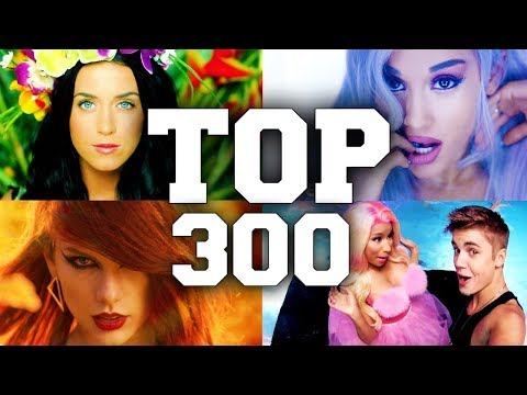 TOP 300 Most Viewed English Songs of All Time