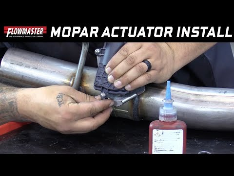 Tech Tip: Installing Mopar Active Exhaust Valve Actuators