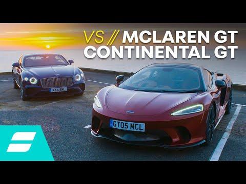 Bentley Continental GT vs McLaren GT: Which Is THE Grand Tourer? 4K