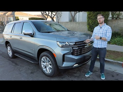 2021 Chevrolet Tahoe Test Drive Video Review