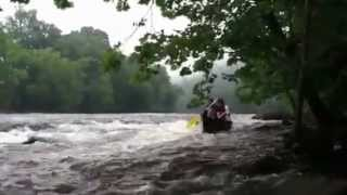 Richie's Falls Video on Upper James River Water Trail