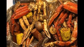 How To Make A Seafood Boil In The Bag | With Blove's Sauce | SEAFOOD