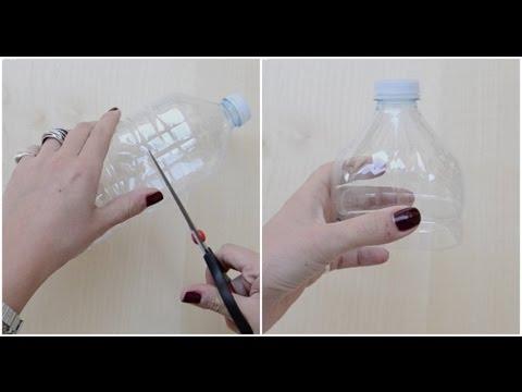 Come riciclare una bottiglia vuota in modo utile