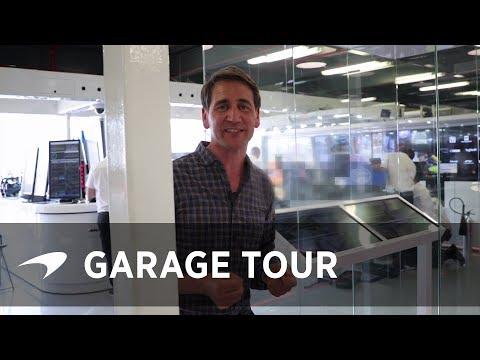 Behind the scenes of McLaren's F1 garage | #AusGP