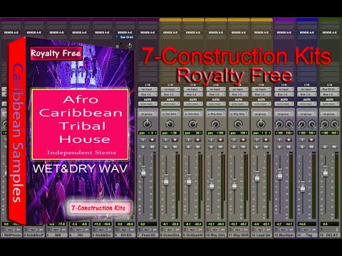 ​Afro Caribbean Tribal House Producers Construction Kits