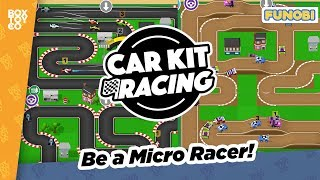 Race Virtual Micro Machines! in Car Kit Racing