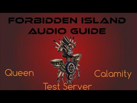 Dungeon] Test Server – Forbidden Island – Queen Calamity
