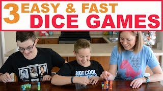 3 Easy Dice Games For Kids And Teens! | Family Fun Every Day
