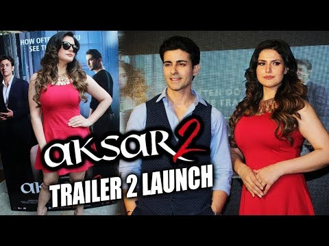 AKSAR 2 Full Trailer Launch - Zarine Khan, Gautam Rode - Full Promotion Video