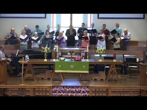 St. Andrew United Methodist Church, Chancel Choir, July 8, 2018, St. Albans, WV