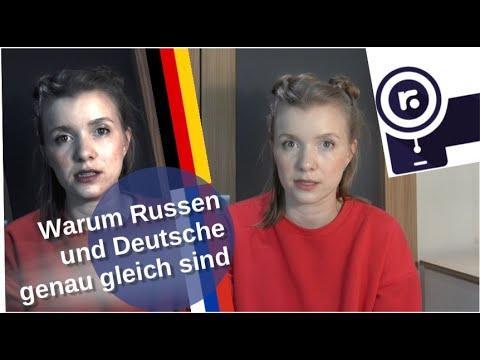 Warum Russen und Deutsche genau gleich sind! [Video]