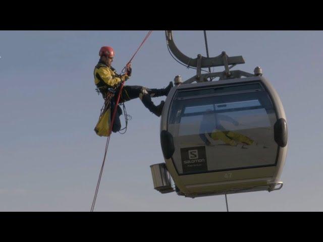 Видео Косынка спасательная Singing Rock Evacuation Triangle Combi II