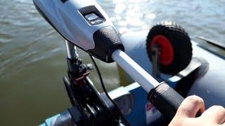 Schlauchboot fahren mit Rhino VX Elektro-Außenbordmotoren - Überall und führerscheinfrei fahren