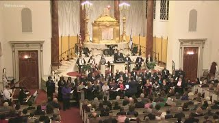 The Temple will host joint service with Ebenezer Baptist Church in Atlanta