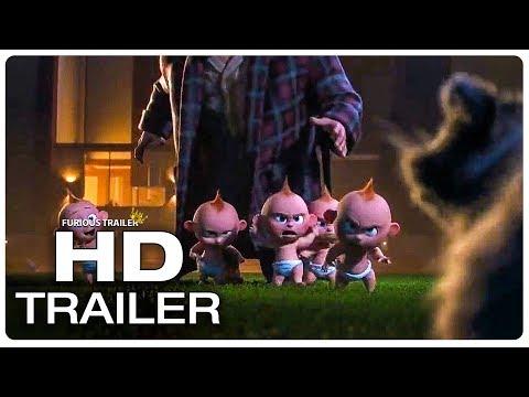 INCREDIBLES 2 Jack Jack Fight Scene Trailer (2018) Superhero Movie Trailer HD