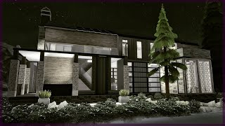 Hollowgrave Estate | Gothic Modern | The Sims 4 House Build