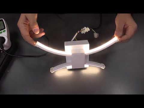 ZMH LED Wandleuchte 10W innen modern Wandlampe 4000K Neutral weiß Wandbeleuchtung energiesparend Lam