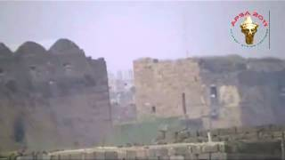 preview picture of video 'Bosra - Combats à la citadelle occupée par des snipers  بصرى الشام - مهاجمة متاريس القناصة في القلعة'