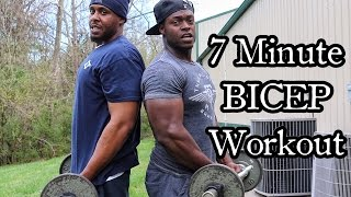 7 MINUTE BICEP WORKOUT FOR A MASSIVE PUMP by Strength Team