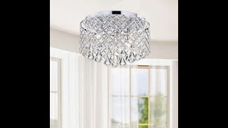 Dollar Tree DIY/ Crystal Chandelier/ Craft With Me Part 1