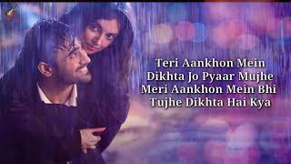 Teri Aankhon Mein Lyrics - Divya K | Darshan R, Neha K