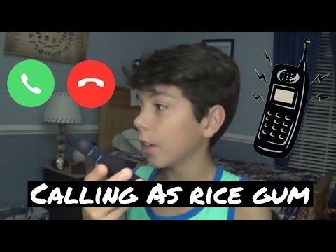Calling Girls As Rice Gum