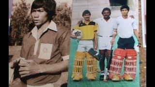 Hockey goal keeping training by first Manipuri Olympian Pangambam Nilakomol   Part 2