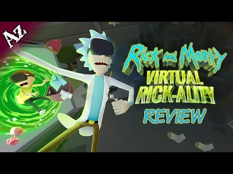 Rick and Morty: Virtual Rick-ality Review (VR) video thumbnail