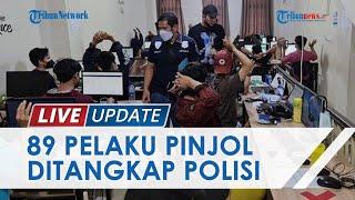 83 Debt Collector hingga Pemilik Perusahaan Pinjol Ilegal Ditangkap, dari Jogja Dibawa ke Jabar