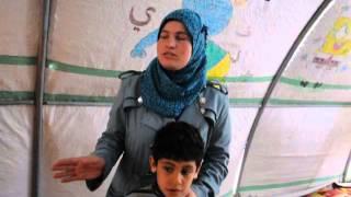 مدرسة المعاقين في مخيم تل ابيض اورفا   شمس الامل في عيون اطفالنا