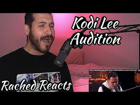 Coach Reaction - Kodi Lee - Audition (видео)