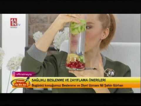 Sağlıklı Beslenme ve Zayıflama Önerileri - Nil Şahin Gürhan - 1AN TV