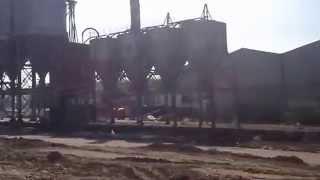 preview picture of video 'chantier de sucy chute 4 silos le 24-04-2013'