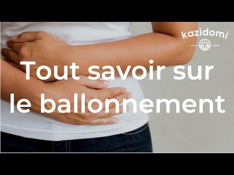 Ballonnements, ventre gonflé, quelles sont les solutions ? (vidéo)