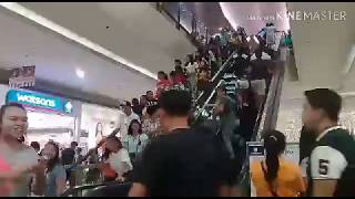 BTS Filipino Army Loud Chant At The Mall. (Burn The Stage)