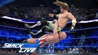 Kurt Angle vs. AJ Styles: SmackDown LIVE, March 26, 2019