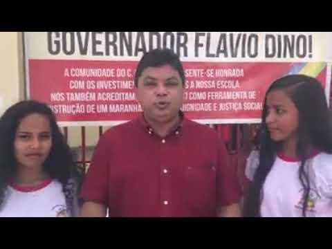 Márcio Jerry entrega da Escola Teófilo Dias em Aldeias Altas - MA