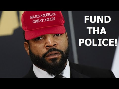Ice Cube sells out to Trump