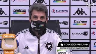 Freeland explica por que Botafogo contratou Enderson Moreira e revela clima de inconformismo no time