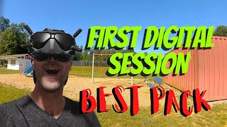 Best pack from my first digital session! Beginner to FPV