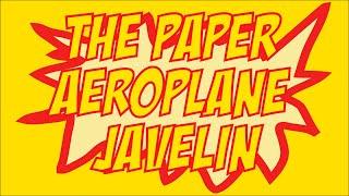 Garden Games Modern Pentathlon – Paper Aeroplane Javelin