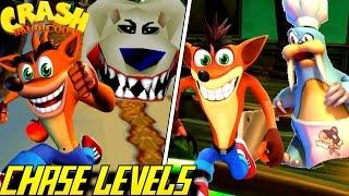 Evolution Of Chase Levels In Crash Bandicoot (1996-2016)