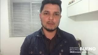 Vereador Pedro Bueno em Repúdio ao Prefeito Bruno Covas