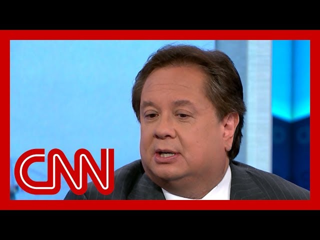 Watch George Conway's reaction to Trump's acquittal